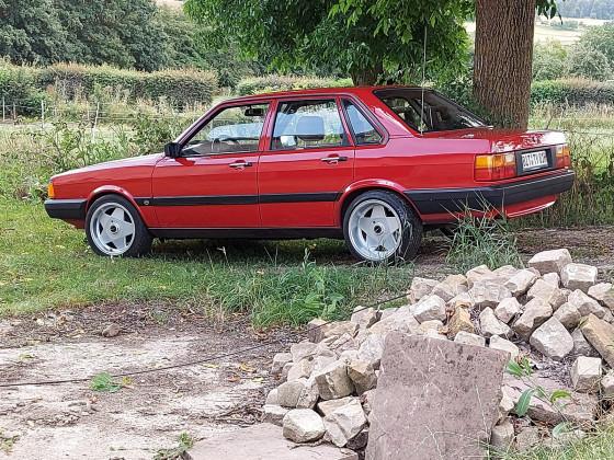 Audi 80 +Borbet