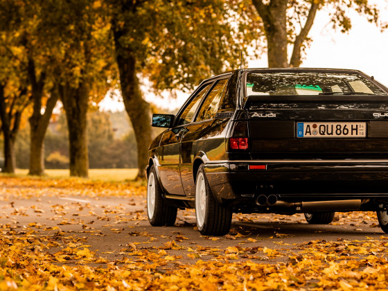Audi Coupe Quattro / Herbst 2020