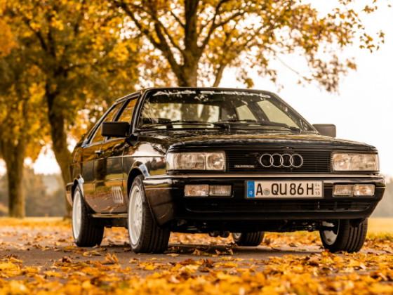 Audi Coupe Quattro Herbst 2020