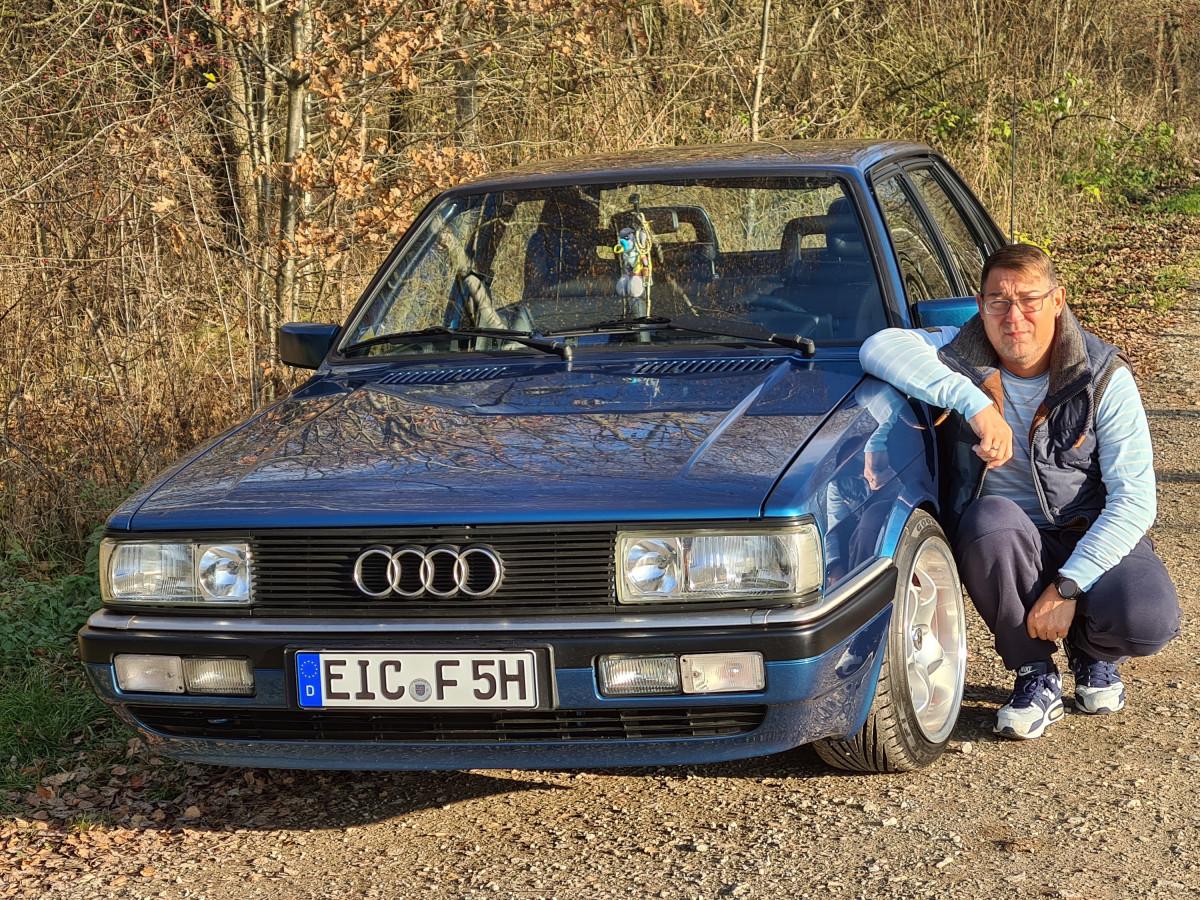 Audi 90 Typ 81 B2