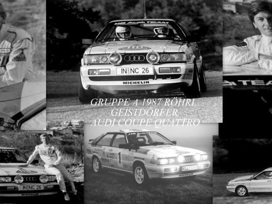 Röhrl / Geistdörfer 1987 und meine Replika...