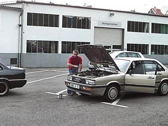 Verharzter Sprit lässt jeden Audi am Boden 'kleben'