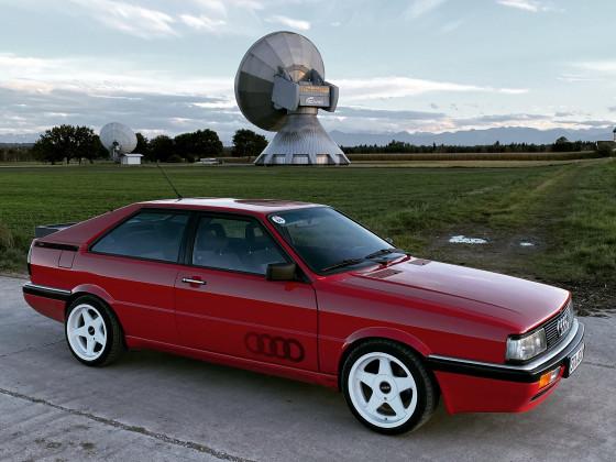 Audi Coupe quattro - Erdfunkstelle Raisting