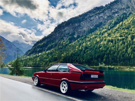 Audi Coupe quattro - Plansee