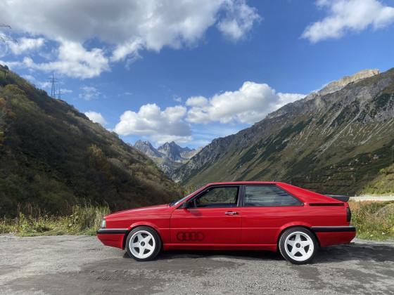 Audi Coupe quattro - Arlbergpass