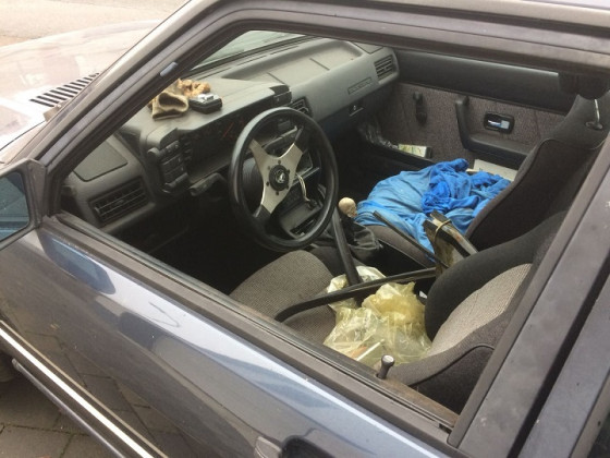 Audi 90 Quattro Innenraum