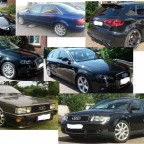 Only Audi! Kleiner Audifuhrpark/Historie