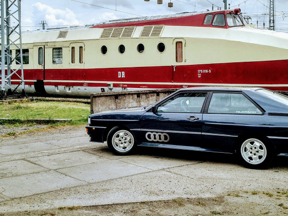 Mein Brite und die Reichsbahn.